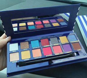 Nova paleta de Maquiagem Reviera 14 cores shimmer Matte paleta da sombra de Alta qualidade Por Epacket