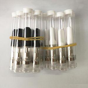 Bobina .5 ml 1.0 ml vape cartucce Th205 olio di spessore cartuccia di ceramica atomizzatore vuoto serbatoio di vetro Penna Vape usa e getta Vaporizzatore