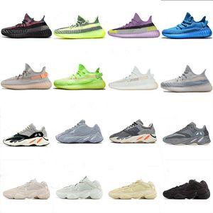 koşu ayakkabıları Kanye West Hiperuzay Lundmark Pompa Womens 2.0 Ucuz Glow Siyah Beyaz Kil Gerçek Formu Yıldız Zebra Trainer