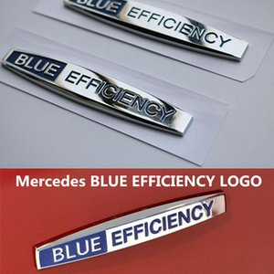 Dedicated to the old Mercedes-B C200 E260L S350L leaf board BLUE EFFICIENCY side car stickers