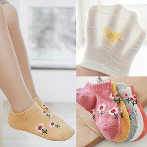 2020 new flower Baby Socks sweet girls socks ankle socks kids sock smiling face cotton children sock kids clothes 1-8Y B1108