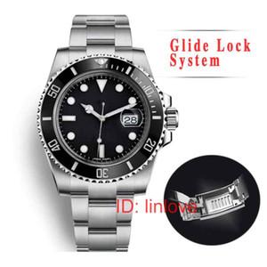 Glide Gold Lock Mens Fashion mulheres Luxo Mecânica senhora automático Tag movimento Designer Relógios de pulso Relógios montre de luxe