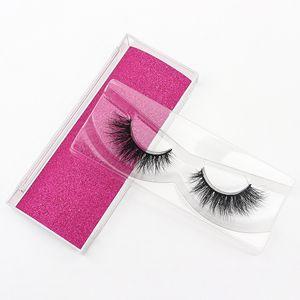 factory wholesale eyelashes Luxurious Handmade Private Label 100% Real 5D Mink Eyelashes