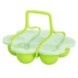 Silikon-Ei-Bites-Form mit ClipOn Deckel Griffe Andere Druck Herd Zubehör Bakeware Küche, Speisen Bar Baby-Food Storage Baking