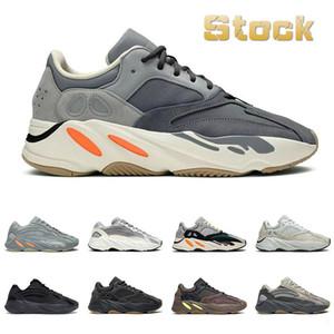 Top qualità riflettente 700 Saluto inerzia Tephra Solid Utility Grigio Nero Vanta scarpe da uomo Designer Shoes Donne Static Sneakers 36-46