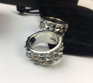 Fashion rings bague for mens and women trend personality jewelry punk style Lovers gift cross style hip hop jewelry