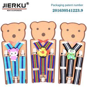jPMfm Children 3 striped strap 2.5cm cartoon boy Universal belt for children 3 clip striped straps 2.5cm cartoon univ girl universal strap