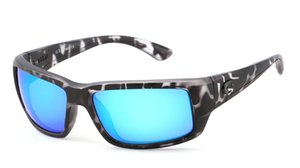 top lentille de lunettes de soleil polarisées pilote hommes Costa classique de conduite Lunettes de Soleil Protection UV Mode luxe lunettes de sport