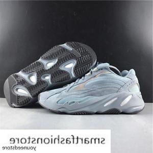 Wholesale Hospital Blue 700 V2 Designer Shoes Wave Runner Teal Blue Vanta Inertia Kanye West Running Shoes Men Women Sport Shoes