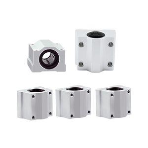 4 pz / lotto SC8UU SCS8UU Lineare Cuscinetto A Sfere 3D Stampante XYZ Table Motion Bearing Scorrevole CNC Parte Router rodamiento lineales