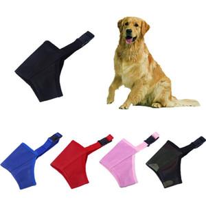 XXS ~ 2XL malla de nylon perro boca bozal anti ladridos bozales para Big Medio Pequeño Perros mascotas transpirable Confort 7 Tamaño 5 colores disponibles