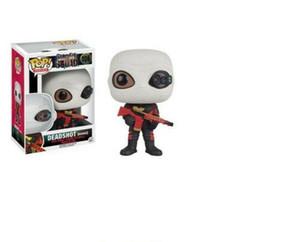 Joli cadeau de Noël Funko Pop Suicide Squad Deadshot (Maksed) # 106 figurines en vinyle Figure Jouets Modèle à prix réduit