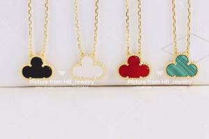 Avoir des timbres haute version bijoux de luxe par VCA concepteur de fleurs collier pour dame femmes fête de mariage pour la mariée véritable collier bouton