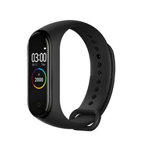 M4 inteligente banda 4 brazalete rastreador de ejercicios del deporte del reloj del ritmo cardíaco Presión arterial SmartBand Monitor de pulsera de la Salud