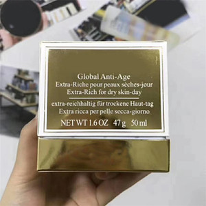 العلامة التجارية كريم الوجه العالمي لمكافحة العمر الغنية بالضيوف الجافة في يوم 50 مل كريم العناية بالبشرة