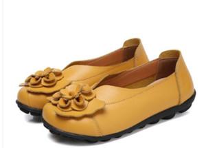 Envío gratis 2018 Primavera Otoño Nuevo estilo Moda antideslizante Zapatos de mujer con fondo plano Zapatos de mujer @ 77