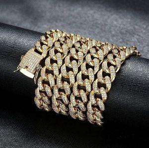 Cuban Gift Chain Link Luxury Men Necklace Diamond Necklace Jewelry Designer Designer Women Jewelry Chain Birthday Chai Lwbun