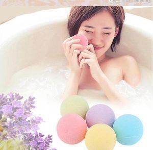 DHL бесплатно 10 г Натуральный пузырь ванна бомба мяч эфирное масло ручной работы спа соли для ванн мяч шипучий Рождественский подарок