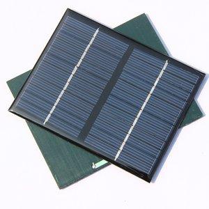 Cellulare 3W 12V solare policristallino del pannello di energia solare Solar System Battery Charger Kit Istruzione epossidiche 10pcs