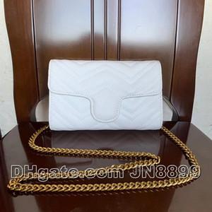 حار بيع حقائب النساء سلسلة الكتف الأكثر شعبية حقائب اليد، وسائد هوائية CROSSBODY حقيبة حقيبة الأنثى الصغيرة مستحضرات تجميل محفظة