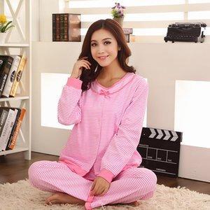 Incinta che le cose caldo di vendite di vendita caldi di marca confinamento Abbigliamento Infermieristica vestiti Stripes tre pezzi Infermieristica vestiti P