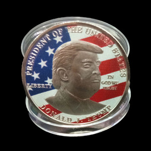 Donald Trump discorso commemorativo della moneta America del Presidente Trump 2020 Collection Monete Crafts Trump Avatar Keep America Grandi monete DBC VT1102