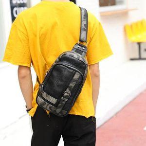 borsa di marca di moda all'ingrosso borsa tendenza mimetica in pelle morbida confezione di moda borsa in pelle di moda collocazione cartella mimetica uomo metrosexual