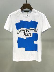 Designer 2020 T-Shirt Sport da uomo 2020 Moda LOU VUI oben con stampa lettere manica corta stile europeo e americano