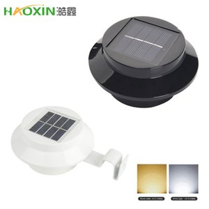 Haoxin 3LED Solar-Sink Light Corridor Wandleuchte Hof Außen Zaun Lampe Eaves Solar-LED-Straßen Gärten Rasen Haus Solar Light