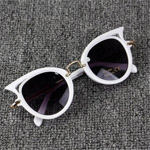 2020 CRIANÇA ÓCULOS Meninas Marca Cat-Eye Crianças Óculos Meninos UV400 Lens Bebê vidros de Sun Shades bonito Eyewear