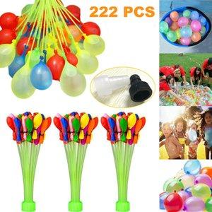 어린이 물이 채워진 풍선 비치 재미 파티 Chindren 어린이 장난감을위한 여름 물 폭탄 채워진 222 개 물 풍선 장난감 물 분사 빠른
