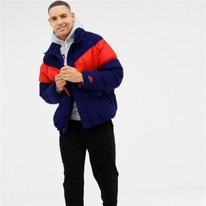 Fashion Sport Brand Mens Jacket Hot Winter Warm Coat Zipper Coats Mens Thick Windbreaker Long Sleeve Luxury Coat B102569K
