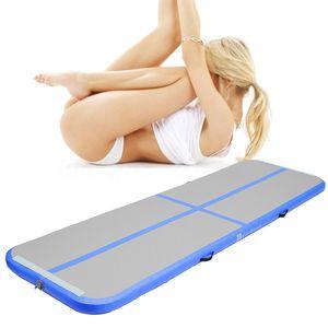 Satılık Ücretsiz Kargo 3m Şişme Ucuz Jimnastik Yatak Gym çamaşır Airtrack Hava Mat Kat Tamburlama Hava Track bir Pompalı gel