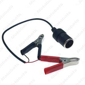 оптовые DC12V батареи Терминал Clip-на сигарного прикуривателя Разъем питания штепсель автомобиля / Boat / Van Для кемпинга Открытый Woring # 940