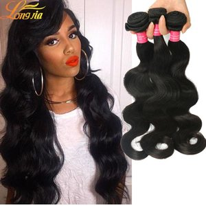 Cheap Body Wave Weaves Best Selling Peruvian Hair Bundles 100 %Unprocessed Human Hair Extensions Free Shipping 8a Quality Hair