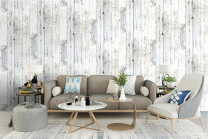 Wallpaper 3d Waterproof Thicken Wood Panel Wallpaper for walls self adhesive Contact paper Hotel Library Bedroom Living room