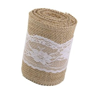 New-3 M Jute ribbon Lace adorns Vintage Rustic Decoration for Home Wedding Crafts