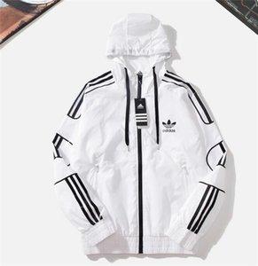 giacca con cappuccio da uomo nuovo arrivo giacca a polvere moda stampa leggera giacche leggere abbigliamento abbigliamento cappotto casual unisex G71912