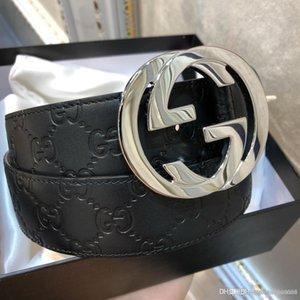 ceintures Designer ceinture en cuir des hommes de qualité des hommes de ceinture Jeans ceinture pour homme ceintures Cummerbund Pour les hommes en métal lisse Boucle Livraison gratuite