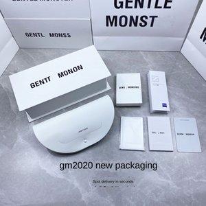 New 2020 White GM Storage sun glasses box V packaging sun glasses storage box with handbag