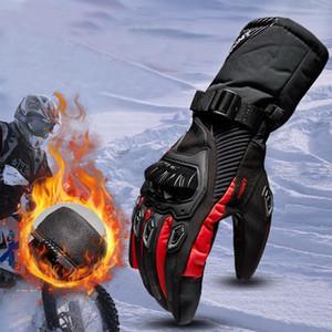 Gants d'hiver de moto imperméables et chauds quatre saisons d'équitation de motard moto anti-chute gants de ski de fond