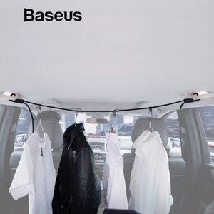 Tensores Baseus Multi-Functional ropa de las correas de coches Percha Ajuste del hogar elástico Tendedero recorrido al aire libre de la cuerda que cuelga