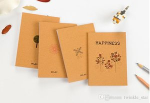 الشحن مجانا 2018 جديد على غرار بيع ورقة نمط الطلاء القرطاسية الكورية جديد خمر نمط دفتر المفكرة