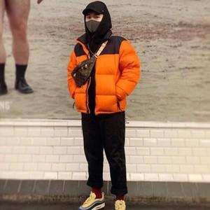 Designer d'hiver des hommes vers le bas manteau de veste avec des lettres Mode Manteaux Veste pour hommes épais coupe-vent parkas Habillements S-3XL Wholesales