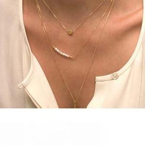 Halsketten-Anhänger arbeiten Gold Layered Collier Plastron Körper Halskette Set Türkisch Jewlery 18K Gold überzog Kette Lange Schön Ketten