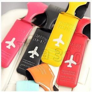 6styles Bavul Etiketleri uçak baskılı İngilizce Mektup Desen Bagaj Etiketi Seyahat Cases kart sahibi Aksesuarları Yaratıcı parti T2I5381
