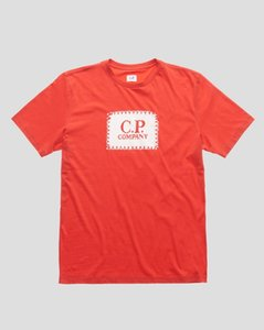 망 t 셔츠 c.p 회사 JERSEY (30) 라벨 인쇄 CREW T 셔츠 CP 회사 셔츠 티셔츠 4 색 짧은 소매 패션