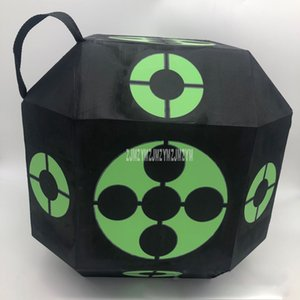 38cm Portable 3D Target Dice Six-Side for Shooting Hunting Practice Training Eco-friendly Arrow Target Cube for Recurve Bow