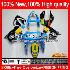 Para corpo KAWASAKI ZX900 ZX9 R ZX 9R ZX9R 98 99 00 01 55HC.0 900cc, 98-99 ZX 9 R 900 ZX9R 1998 1999 2000 2001 ABS carenagens kit de tubarão peixe Nova