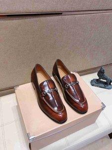 Qualität Elegante Schuhe Herrenmode Rundkopf beiläufige High End Business-Lederschuhe Mode-verursachende Ufer